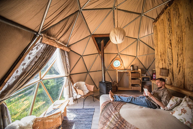 Suite dome at EcoCamp