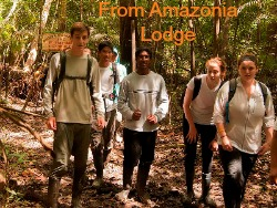 amazon trekking in peru
