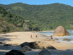 Paraty beach hiking