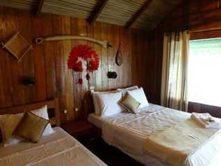 juma lodge room