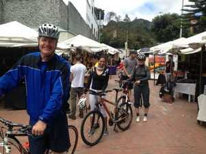 bike tour in Bogota