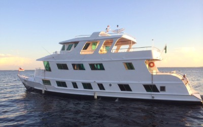 Tuin amazon charter boat